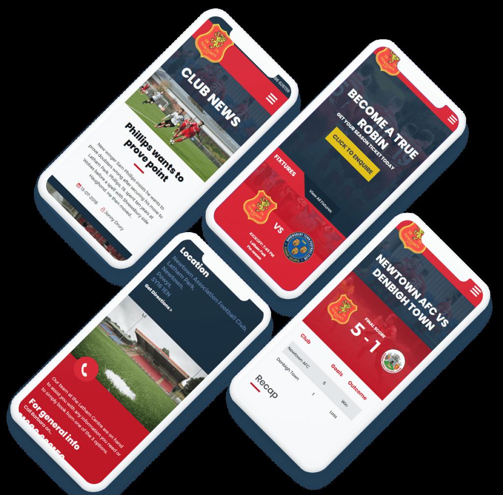 Newtown mobile responsive design