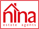 Nina estate agents logo